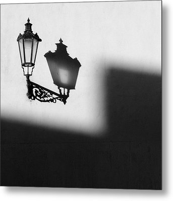Light Shadow Metal Print by Dave Bowman