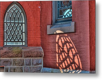 Light Shadows And Reflections Metal Print by Gary Slawsky