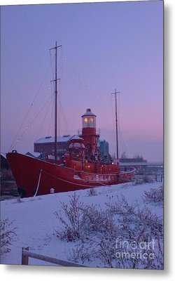 Metal Print featuring the photograph Light Ship by John Williams