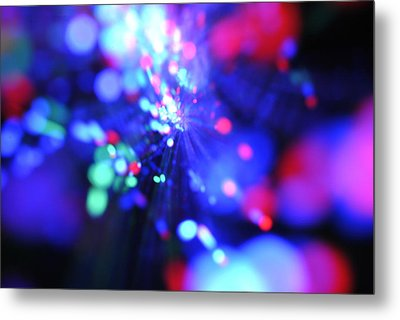 Light Show 1.1 Metal Print by Frederico Borges