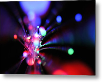 Light Show 1.3 Metal Print by Frederico Borges