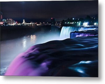 Metal Print featuring the photograph Light Show by Mihai Andritoiu