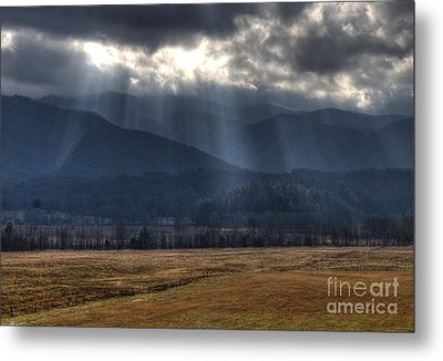 Light Shower Metal Print by Douglas Stucky