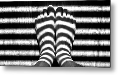 Light Socks Metal Print by David Pantuso