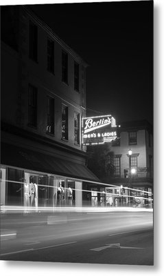 Light Trails Metal Print by Andrew Crispi