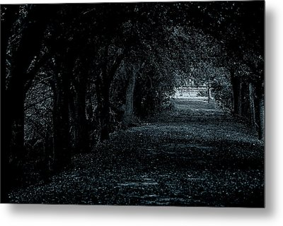 Metal Print featuring the photograph Light Tunnel by Lorenzo Cassina
