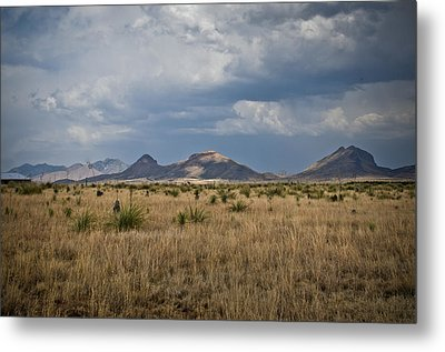 Light Upon The Hill Metal Print by Swift Family