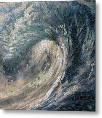 Light Wave  Metal Print