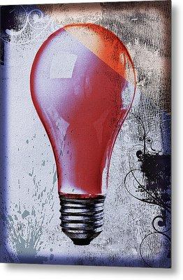 Lightbulb Metal Print