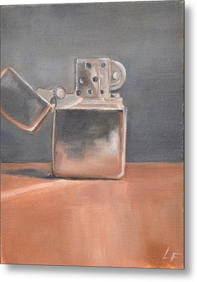 Metal Print featuring the painting Lighter by Lindsay Frost