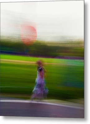 Metal Print featuring the photograph Lighter Than Air by Alex Lapidus