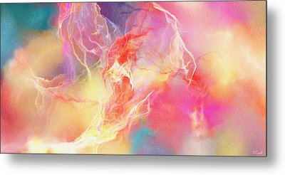 Lighthearted - Abstract Art Metal Print by Jaison Cianelli