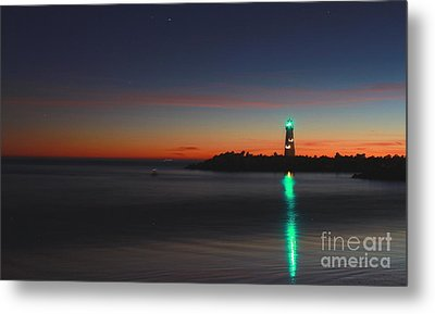 Metal Print featuring the photograph Lighthouse 6 by Theresa Ramos-DuVon