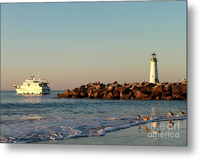 Metal Print featuring the photograph Lighthouse 8 by Theresa Ramos-DuVon