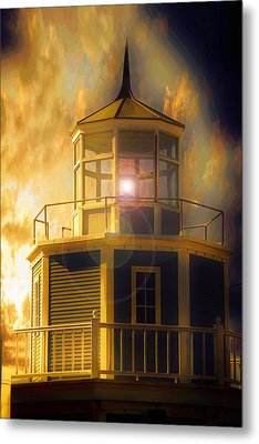 Metal Print featuring the photograph Lighthouse  by Aaron Berg