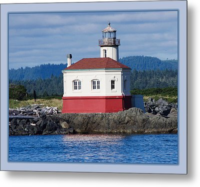 Metal Print featuring the photograph Lighthouse by Adria Trail
