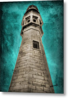 Lighthouse Art Metal Print by Cindy Haggerty