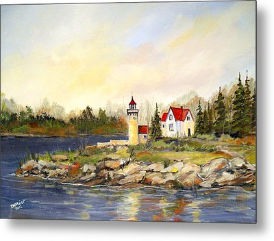 Lighthouse Metal Print by Dorothy Maier