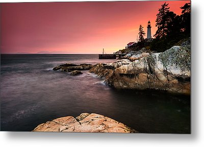 Lighthouse Park Metal Print by Alexis Birkill
