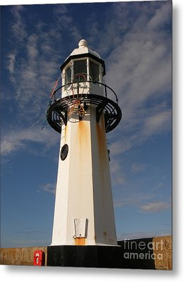 Lighthouse  Metal Print by Pixel  Chimp