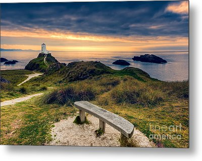 Lighthouse View Metal Print by Adrian Evans
