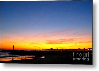 Metal Print featuring the photograph Lighthouse4 by Theresa Ramos-DuVon