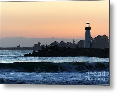 Lighthouses Of Santa Cruz Metal Print