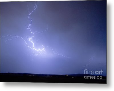 Lightning Goes Boom In The Middle Of The Night Metal Print by James BO  Insogna