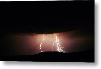 Lightning  Metal Print by Jeff Swan