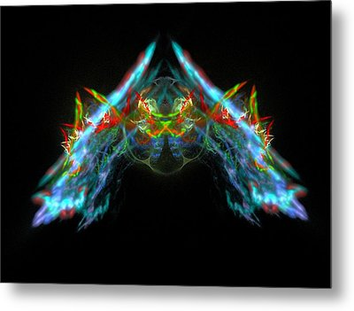 Lightning Storm Metal Print by Bruce Nutting