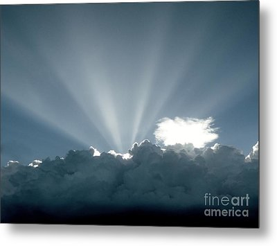 Lightplay Metal Print