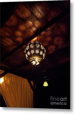 Lights And Shadows Metal Print by Linda Prewer