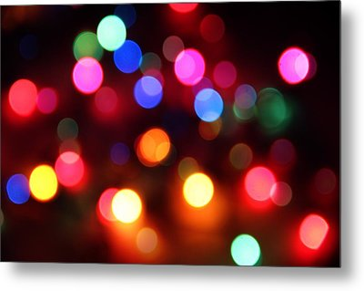 Metal Print featuring the photograph Lights by Elizabeth Budd
