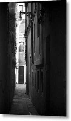 Light's Passage - Venice Metal Print