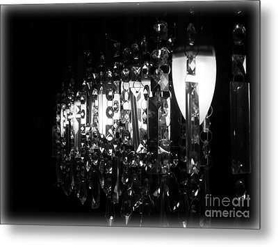 Metal Print featuring the photograph Lightwork by Clare Bevan