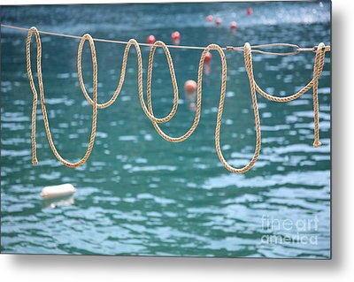 Metal Print featuring the photograph Ligurian Loops  by Lynn England