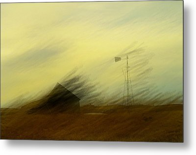 Like A Memory In The Wind Metal Print by Jeff Swan