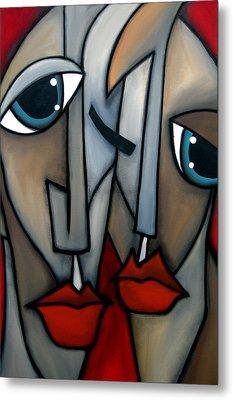 Like Minded By Fidostudio Metal Print by Tom Fedro - Fidostudio