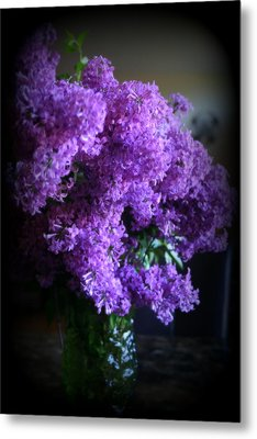 Lilac Bouquet Metal Print by Kay Novy