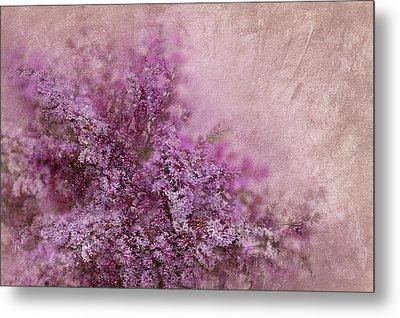 Lilac Splash Metal Print by Svetlana Sewell