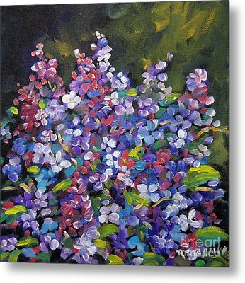 Lilac_burst_by_prankearts Metal Print by Richard T Pranke