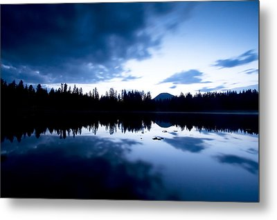 Lilly Lake Metal Print by Darryl Wilkinson