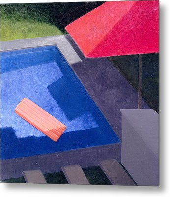 Lilo, 2004 Acrylic On Canvas Metal Print by Lincoln Seligman