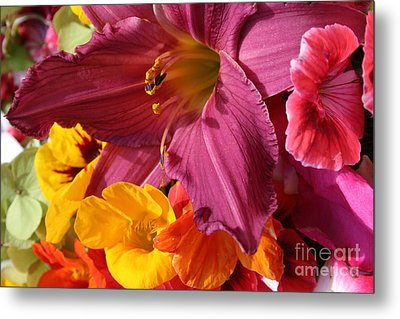 Metal Print featuring the photograph Lily by Jeanette French