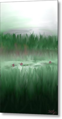 Lily Pads Metal Print by Jessica Wright