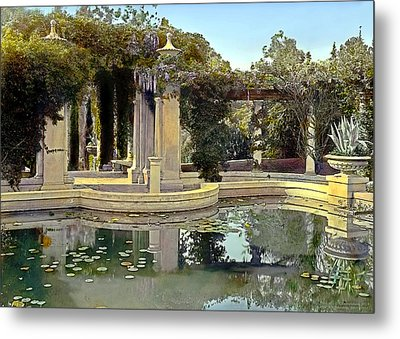 Lily Pond Metal Print by Terry Reynoldson