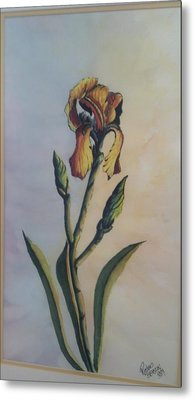 Lily Sold Metal Print