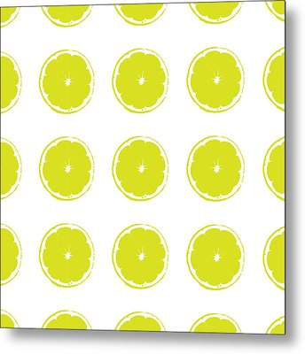 Metal Print featuring the digital art Limes by Jocelyn Friis
