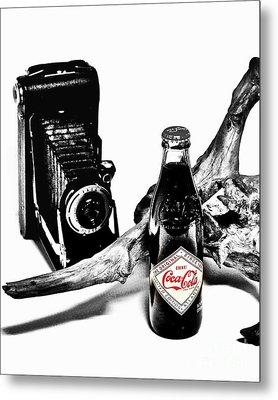 Limited Edition Coke - No.008 Metal Print by Joe Finney