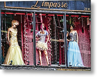Limpasse Metal Print by Terry Cork
